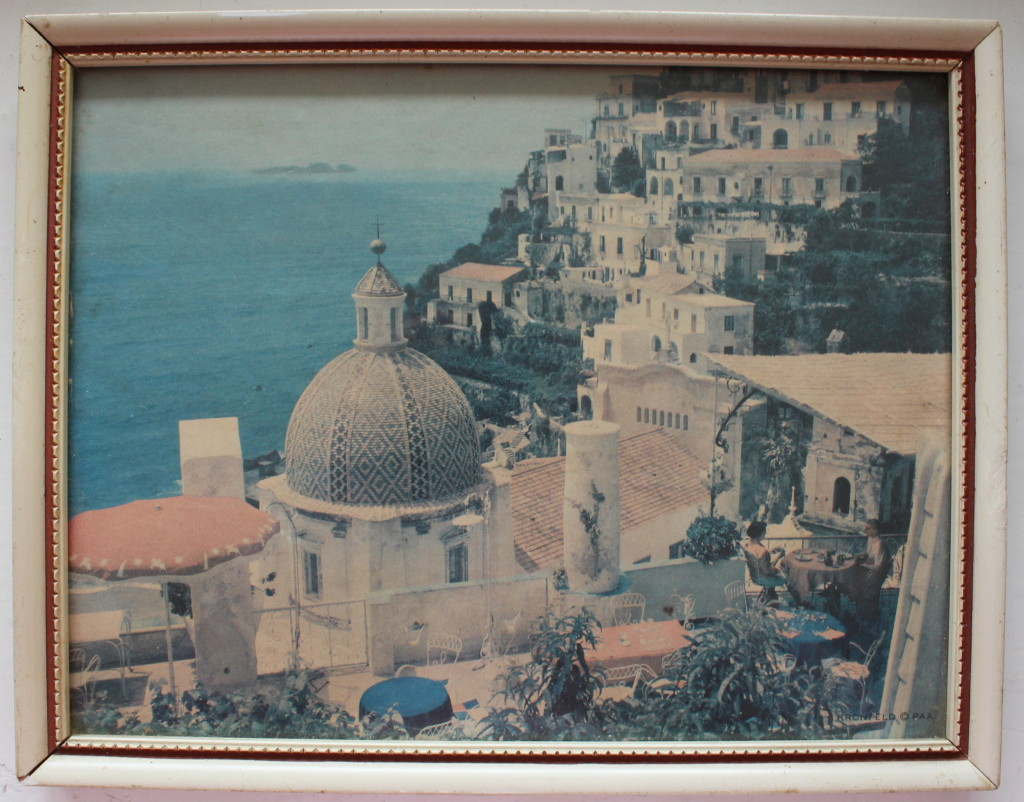 Old picture of Positano