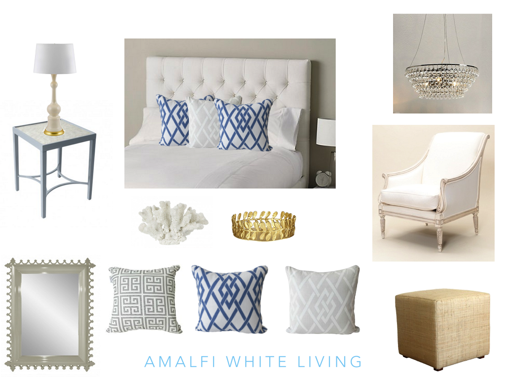 How to create a hamptons style bedroom amalfi white living for Bedroom ideas hamptons